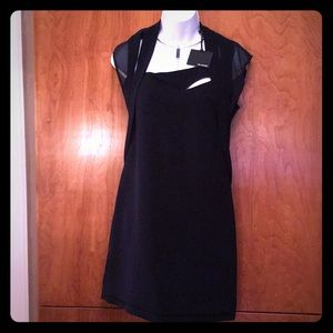 The Kooples dark navy dress